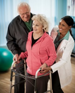 physical therapy patient