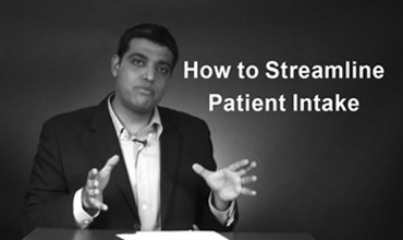 How to Streamline Patient Intake